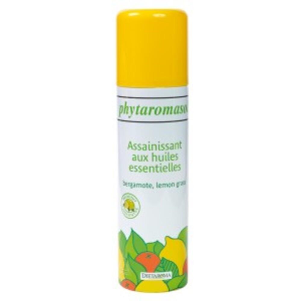 Phytaramasol bergamotte/lemongrass - 250.0 ml - produits et sprays aux huiles essentielles - diétaroma Désodorisent naturellement l'atmosphère-6456