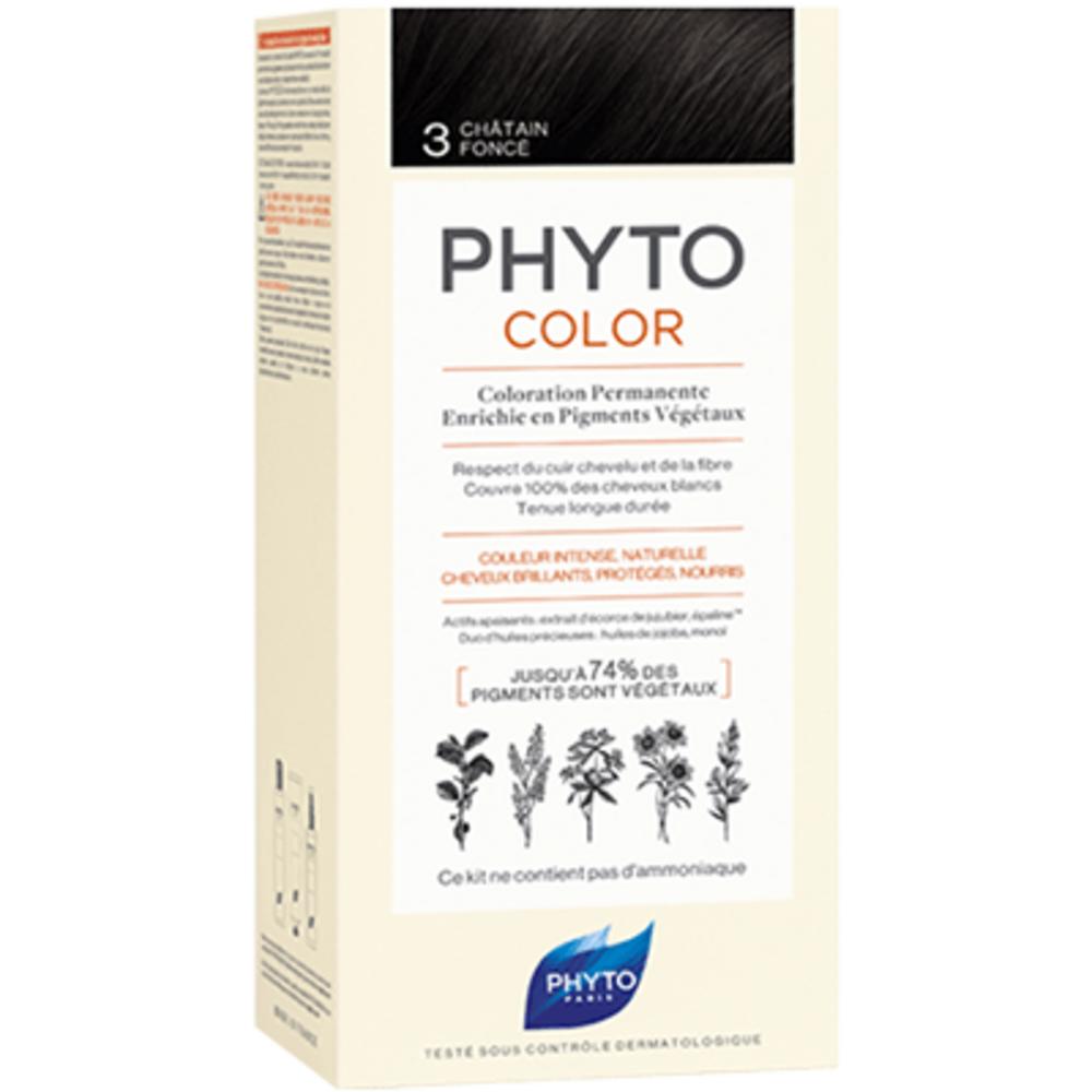 Phyto phytocolor 3 châtain foncé Phyto-223175