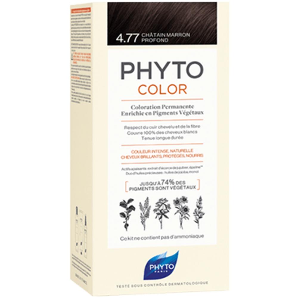 Phyto phytocolor 4.77 châtain marron profond Phyto-223177