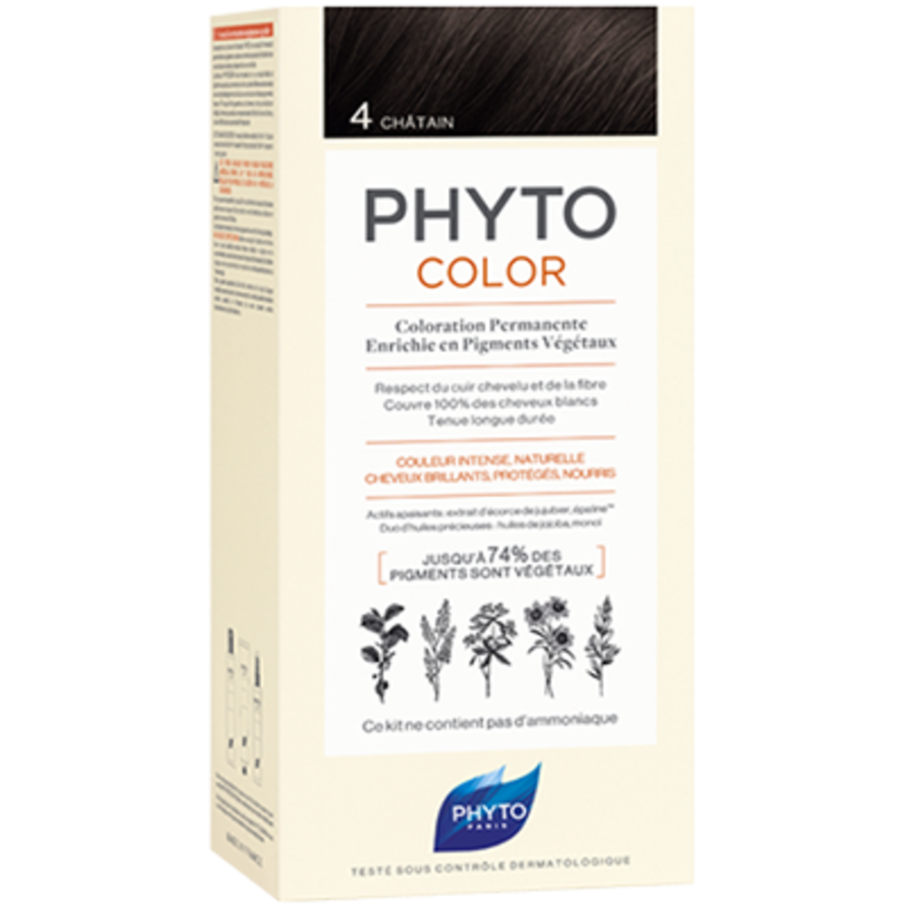 Phyto phytocolor 4 châtain - phyto -223176
