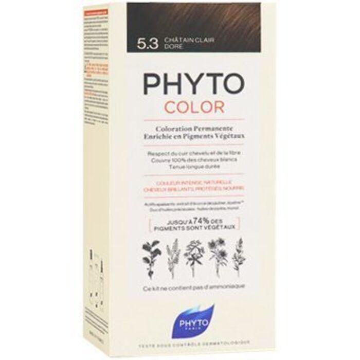 Phyto phytocolor 5.3 châtain clair doré Phyto-223179