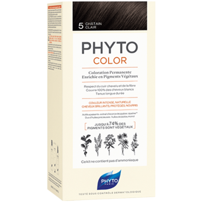 Phyto phytocolor 5 châtain clair Phyto-223178
