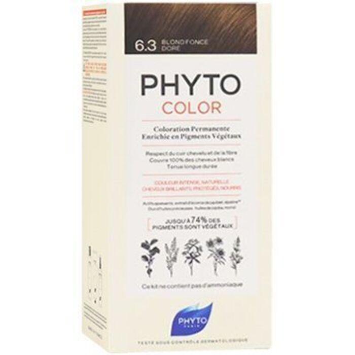 Phyto phytocolor 6.3 blond foncé doré Phyto-223182