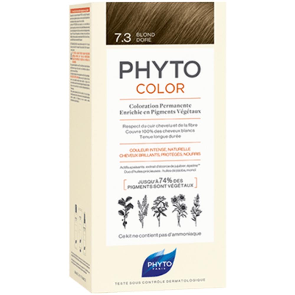 Phyto phytocolor 7.3 blond doré Phyto-223186