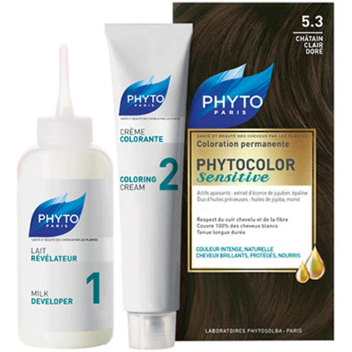 Phyto phytocolor sensitive 5.3 chatain doré Phyto-213840