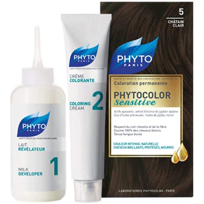 Phyto phytocolor sensitive 5 chatain clair Phyto-213843