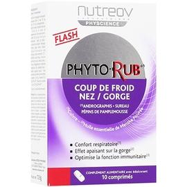 Phyto-rub 10 comprimés - nutreov -210938
