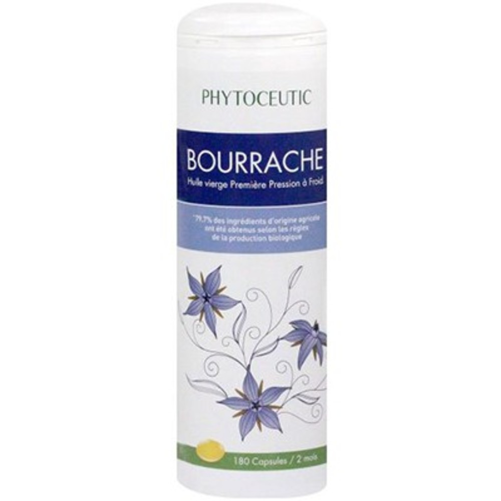 Phytoceutic bourrache bio 180 capsules - 180.0 unites - phytoceutic Beauté de la peau-8182
