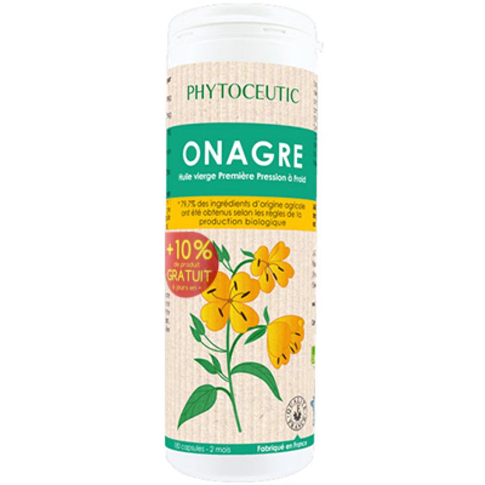 Phytoceutic onagre 180 capsules - 180.0 unites - phytoceutic Bien être féminin-8187