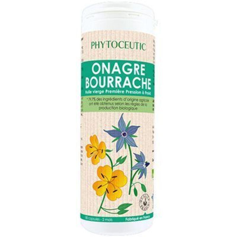 Phytoceutic onagre bourrache bio 180 capsules - 180.0 unites - phytoceutic Beauté de la peau, bien-être féminin-8183