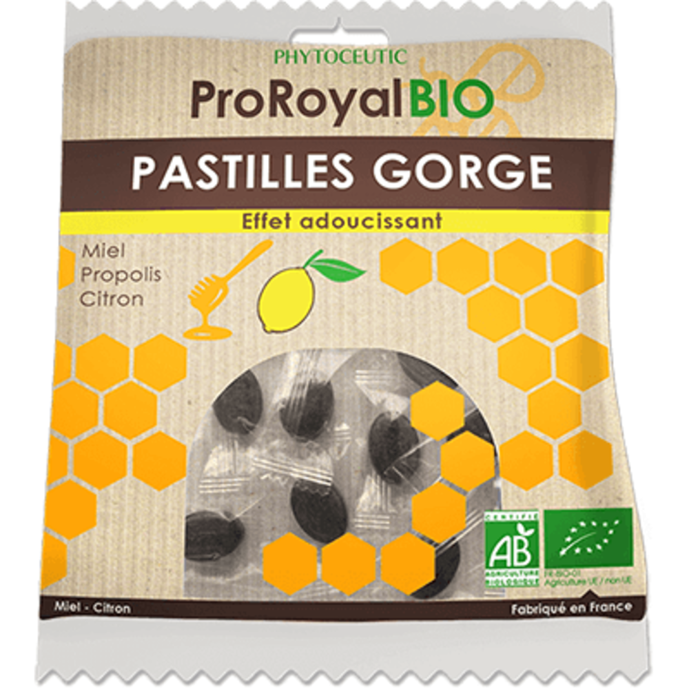 Phytoceutic proroyalbio pastilles gorge miel citron 50g - phytoceutic -222636