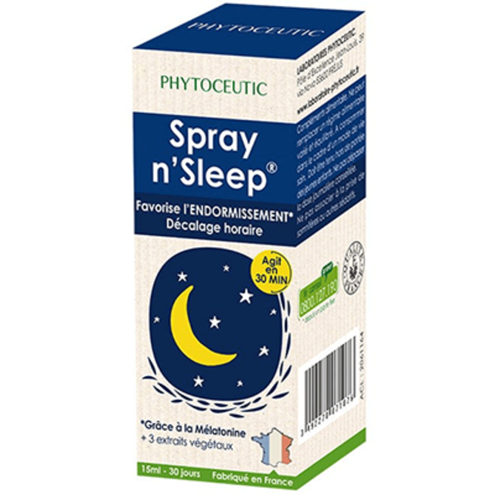 Phytoceutic spray n'sleep 15ml - 20.0 ml - phytoceutic -141273
