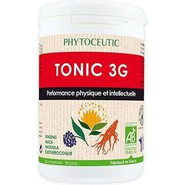 Phytoceutic tonic 3g 60 comprimés - phytoceutic -189693