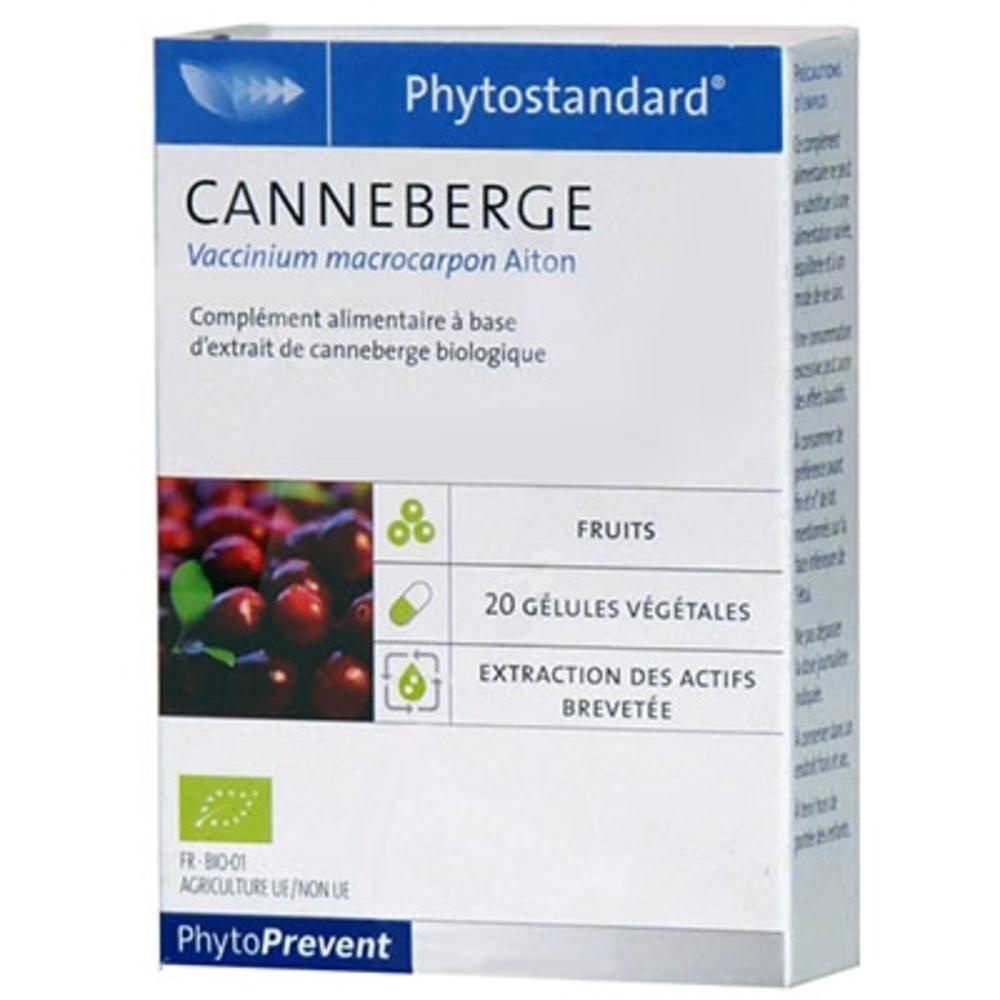 phytoprevent phytostandard canneberge pileje achat au meilleur prix pharmacie en ligne. Black Bedroom Furniture Sets. Home Design Ideas