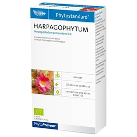 Phytoprevent phytostandard harpagophytum - 20 gélules - pileje -198883