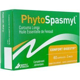 Phytospasmyl confort digestif 60 capsules - mayoly spindler -228079