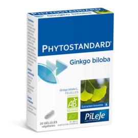 Phytostandard ginkgo biloba 20 gélules - pileje -198881