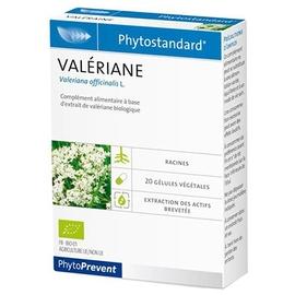 Phytostandard valériane 20 gélules - pileje -198895