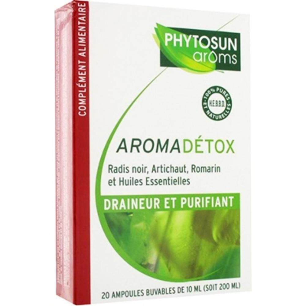 Phytosun aromadetox - 20.0 unites - gamme aroma ampoules - phytosun arôms -5214
