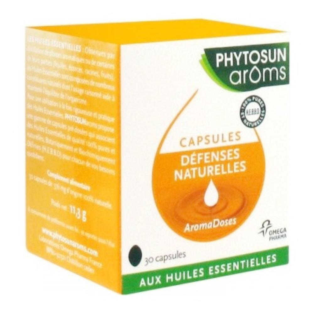 Phytosun aroms aromadoses défenses naturelles - 30 capsules - phytosun arôms -193970