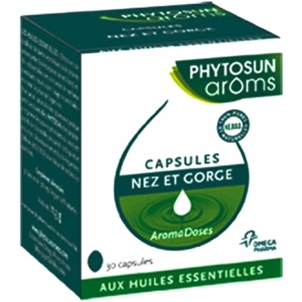 Phytosun aroms aromadoses nez et gorge - 30.0 unites - aromadoses - phytosun arôms -9651