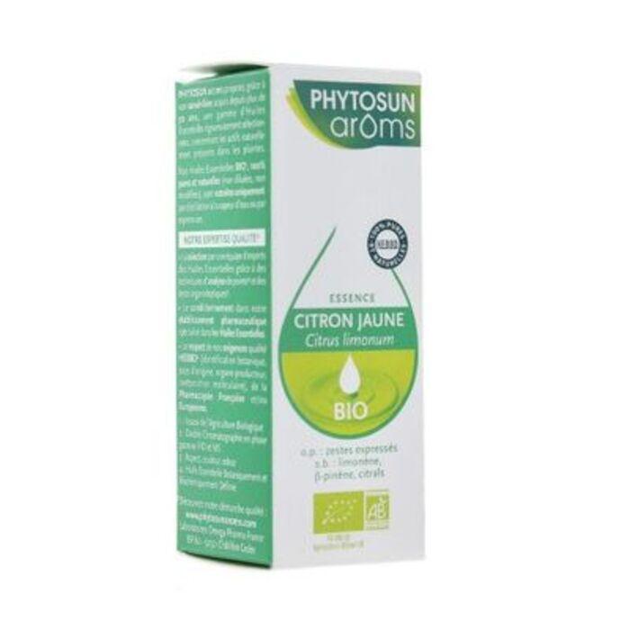 Phytosun aroms citron jaune bio 10ml Phytosun arôms-221259