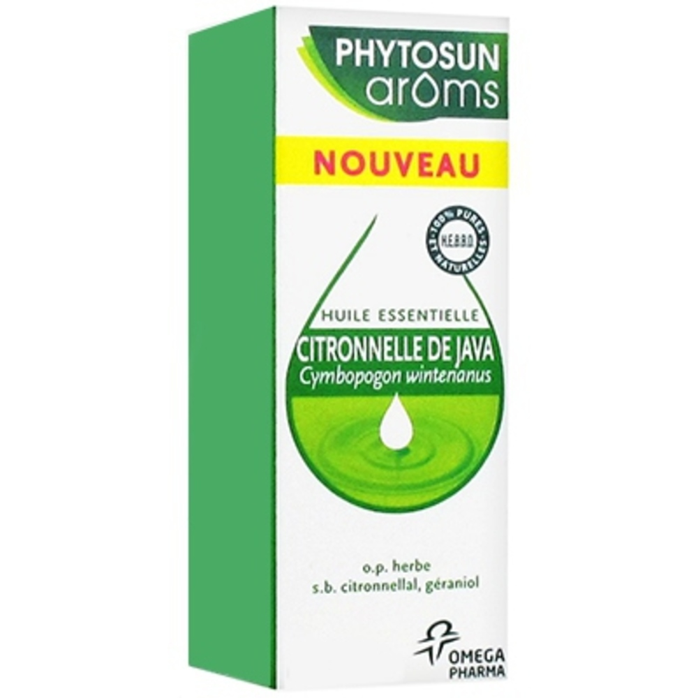 Phytosun aroms citronnelle de java -10 ml - 10.0 ml - phytosun arôms -191988