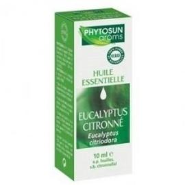 Phytosun aroms eucalyptus citronne - 10.0 ml - huiles essentielles hebbd - phytosun arôms -11717
