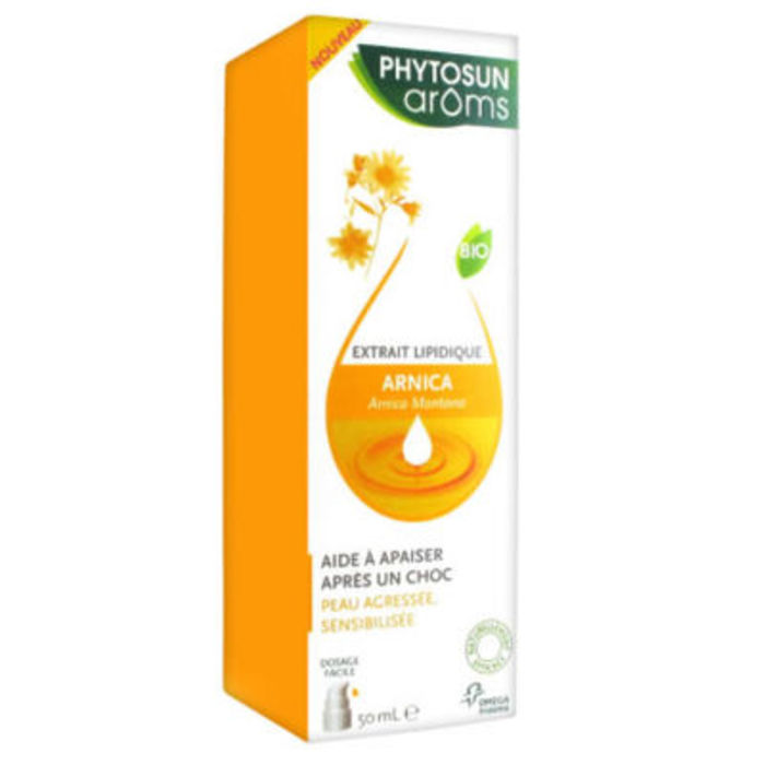 Phytosun aroms extrait lipidique arnica 50ml Phytosun arôms-216099