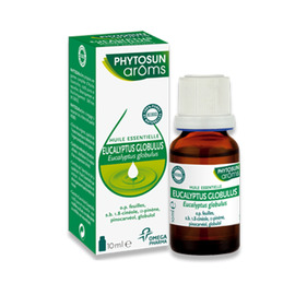 Phytosun aroms huile essentielle eucalyptus globuleux bio - 5.0 ml - huiles essentielles hebbd bio - phytosun arôms Respiration-11754