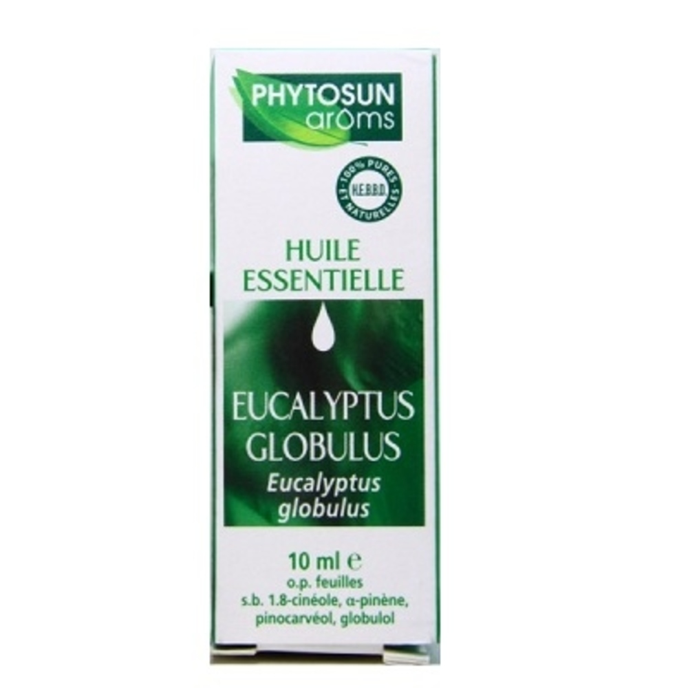 Phytosun aroms huile essentielle eucalyptus globulus - 10.0 ml - huiles essentielles hebbd - phytosun arôms -11718
