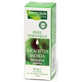 Phytosun aroms huile essentielle eucalyptus radiata - 10.0 ml - huiles essentielles hebbd - phytosun arôms -11719