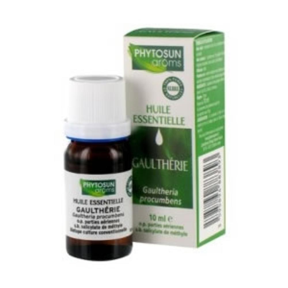 Phytosun aroms huile essentielle gaulthérie - 10.0 ml - huiles essentielles hebbd - phytosun arôms -11721