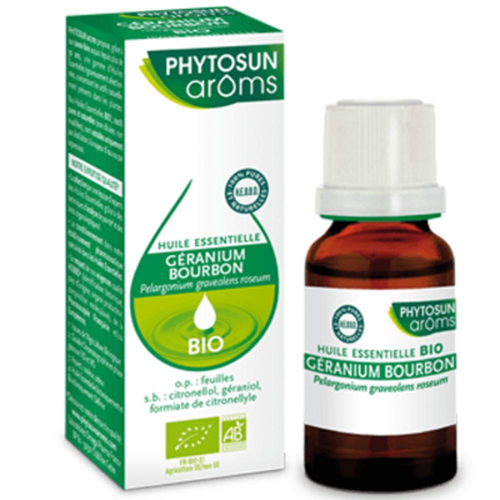 Phytosun aroms huile essentielle géranium bourbon bio 10ml Phytosun arôms-223650
