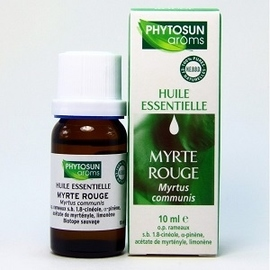 Phytosun aroms huile essentielle myrte rouge - 10.0 ml - huiles essentielles hebbd - phytosun arôms -11731
