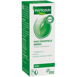 Phytosun aroms huile essentielle niaouli 10ml - 10.0 ml - huiles essentielles hebbd - phytosun arôms -11729