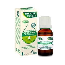 Phytosun aroms huile essentielle sapin baumier bio 5ml - 5.0 ml - phytosun arôms -210457