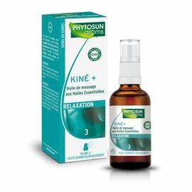 Phytosun aroms kiné+3 huile de massage relaxation - 50.0 ml - huile de soin kine + - phytosun arôms -5165