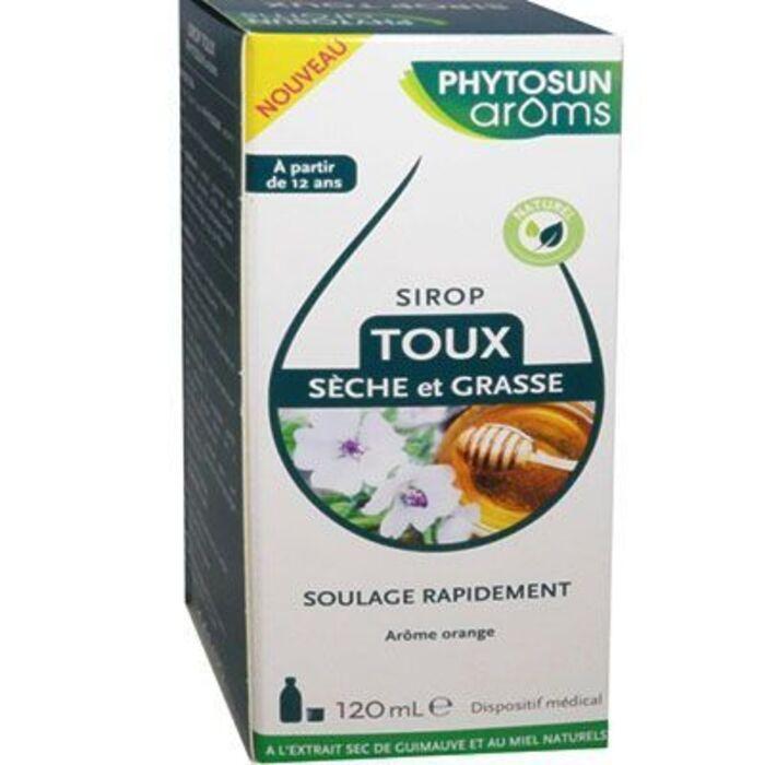 Phytosun aroms sirop toux sèche et grasse 120ml Phytosun arôms-222465