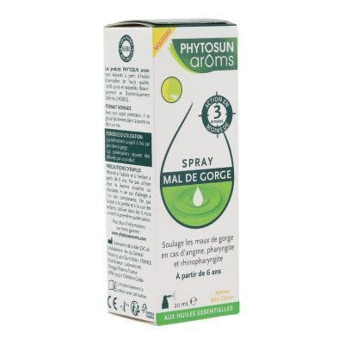 Phytosun aroms spray mal de gorge 20ml Phytosun arôms-222466