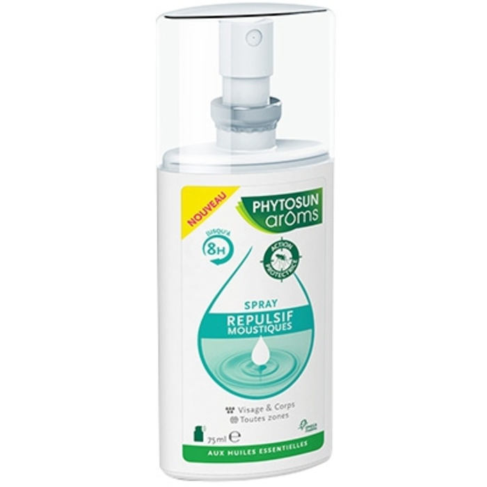 Phytosun aroms spray répulsif moustiques - 75ml Phytosun arôms-168925