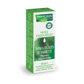 Phytosun huile essentielle thym à feuilles de sariette - 10.0 ml - huiles essentielles hebbd - phytosun arôms -11744
