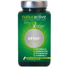 Phytoxpert détox 60 gélules - naturactive -216664