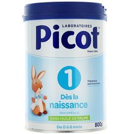 Picot lait 0-6mois 800g - picot -223718