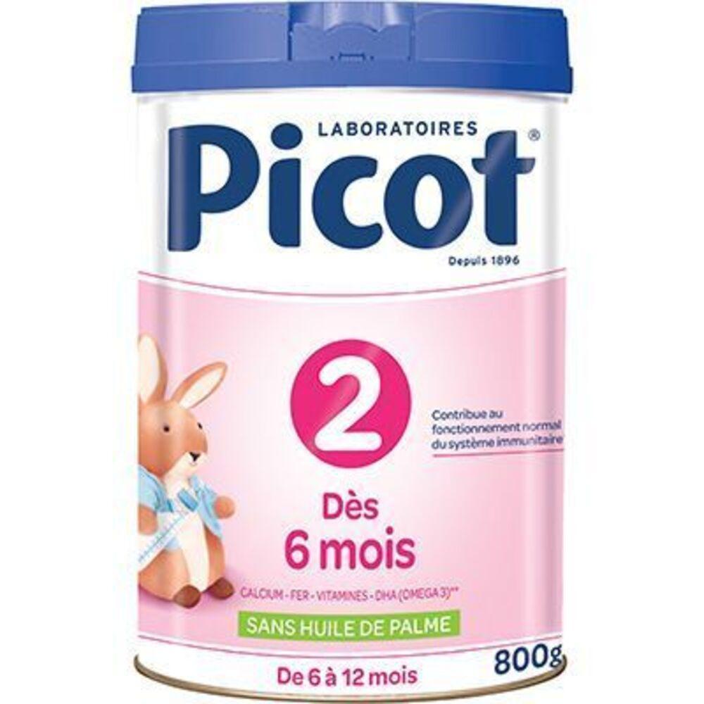 Picot lait 6-12mois 800g - picot -223699
