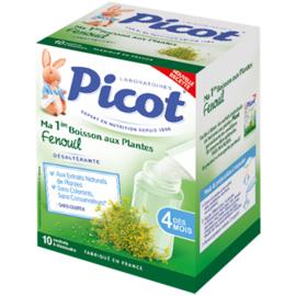 Picot ma 1ère boisson aux plantes fenouil 10 sachets - 5.0 g - picot -210055