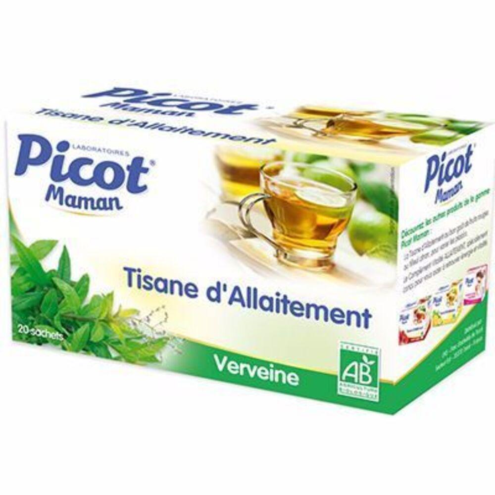 Picot maman tisane d'allaitement verveine 20 sachets - picot -148253