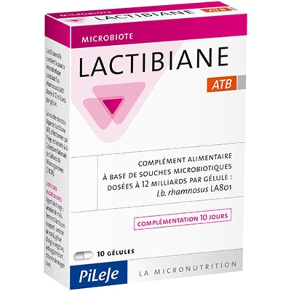 Pileje lactibiane atb - 10 gélules - pileje -192003
