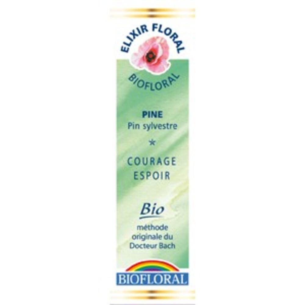 Pin sylvestre (Pine) - 20.0 ml - Elixirs Floraux - Biofloral Humeur : découragement / désespoir-1315