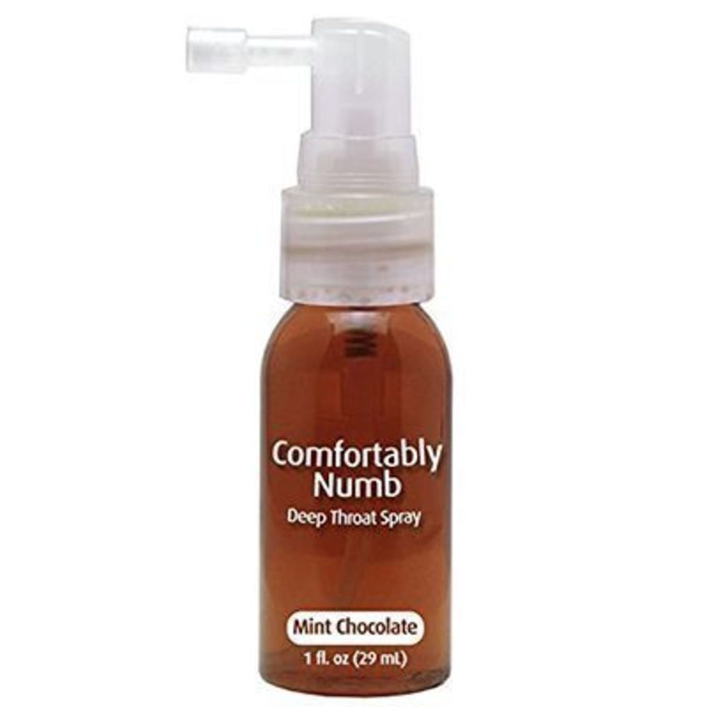 Pipedream comfortably numb choco-menthe spray désensibilisant gorge 29ml - pipedream -220994